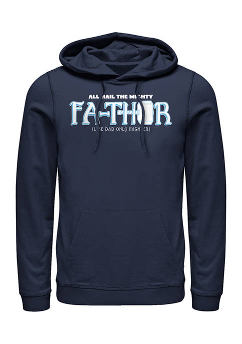 Mighty FaThor Fleece Graphic Hoodie