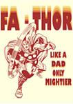 FaThor Retro Graphic T-Shirt