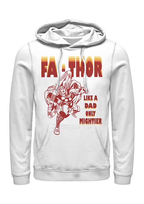FaThor Retro Fleece Graphic Hoodie