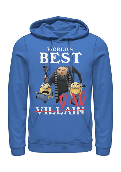 Best Villiain Fleece Graphic Hoodie