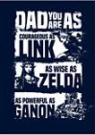 Zelda Jumble - Colored Ink Crew Fleece Graphic Sweatshirt