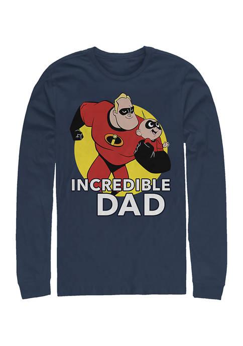 Disney® Pixar™ Best Father Long Sleeve Graphic T-Shirt