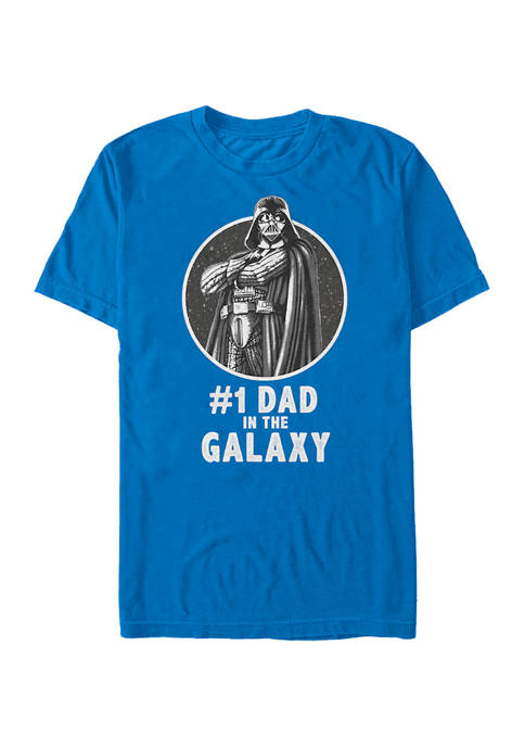 Number One Dad Graphic T-Shirt