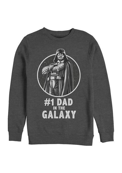 Star Wars® Number One Dad Crew Fleece Graphic