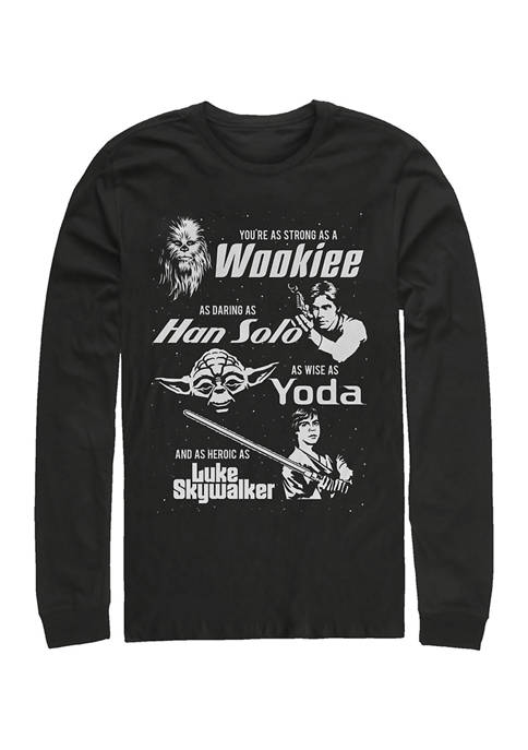 Dad Force Long Sleeve Graphic T-Shirt
