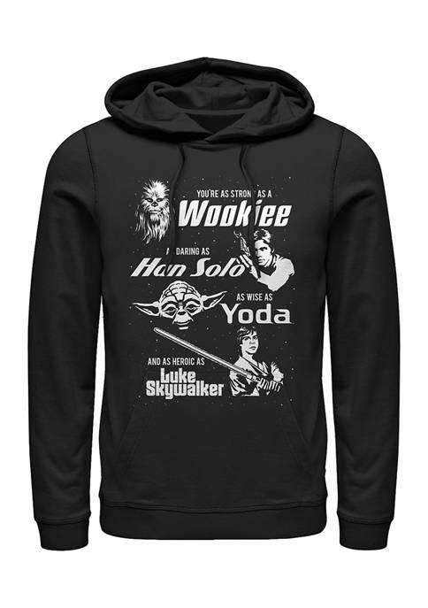 Dad Force Fleece Graphic Hoodie
