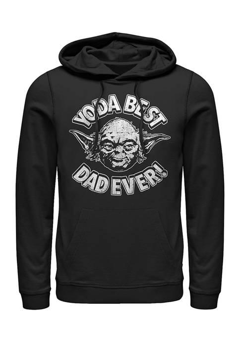 Yoda Best Crew Fleece Graphic Sweatshirt