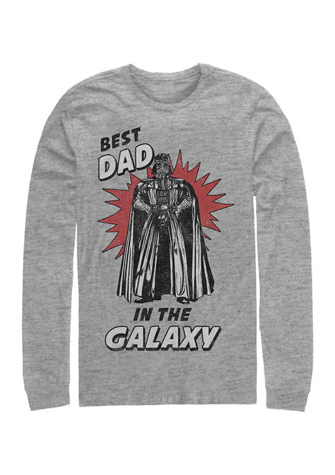 Star Wars® Best Dad Long Sleeve Graphic T-Shirt