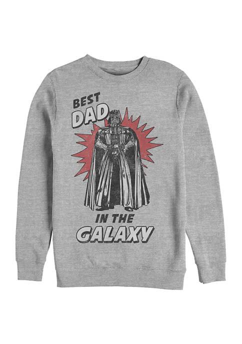 Star Wars® Best Dad Crew Fleece Graphic Sweatshirt
