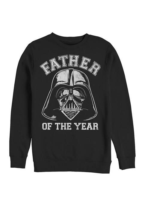 Man of the Year Crew Fleece Graphic Sweatshirt