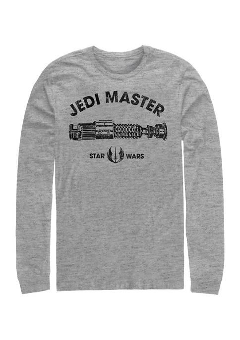 Jedi Master Long Sleeve Graphic T-Shirt