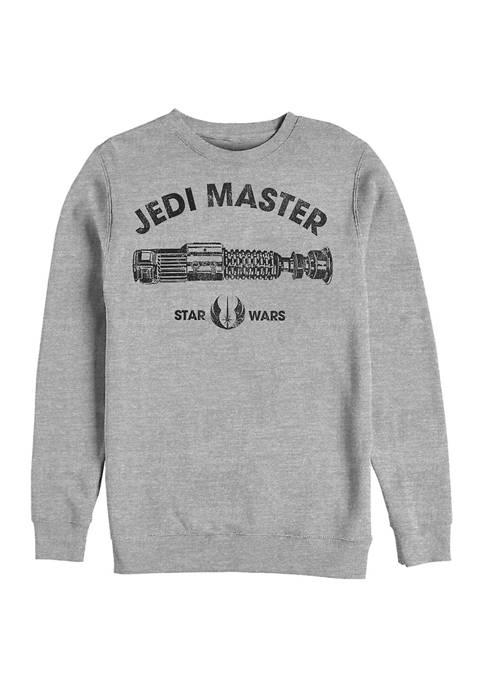 Jedi Master Crew Fleece Graphic Sweatshirt
