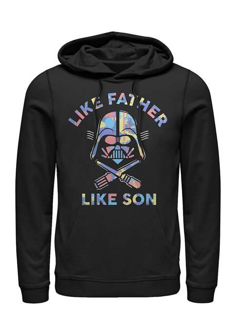Like Father Fleece Graphic Hoodie