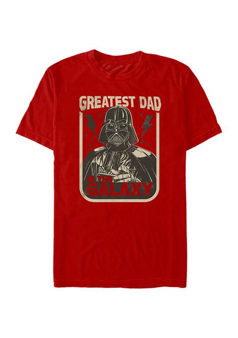 Galaxy Dad Graphic T-Shirt