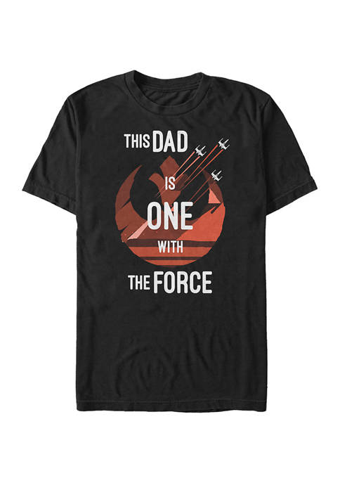 Dad Force One Graphic T-Shirt
