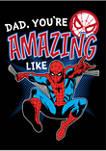 Amazing Like Dad Crew Fleece Graphic Sweatshirt