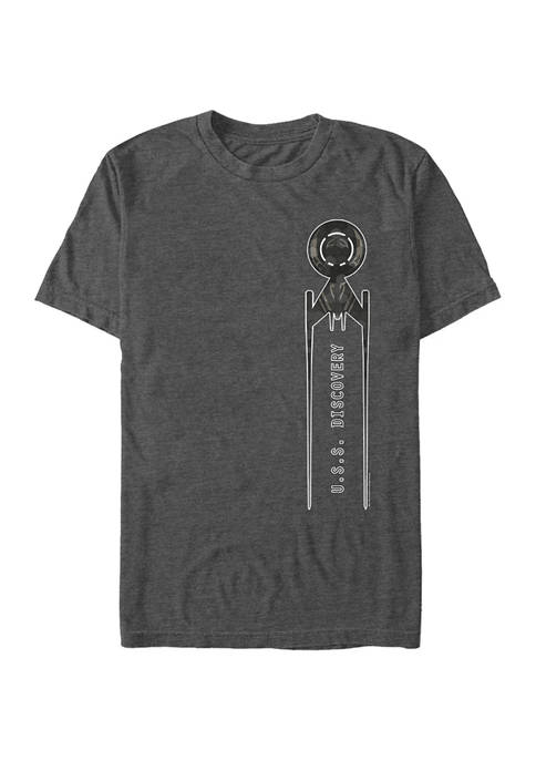 STAR TREK Juniors Discovery Take Off Graphic T-Shirt