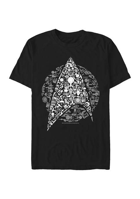 Juniors Star Trek Icons Graphic T-Shirt
