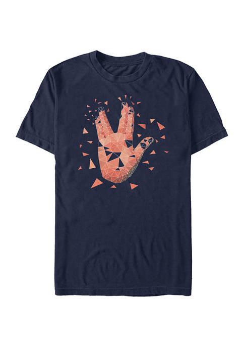 STAR TREK Juniors Shattered Tribute Graphic T-Shirt