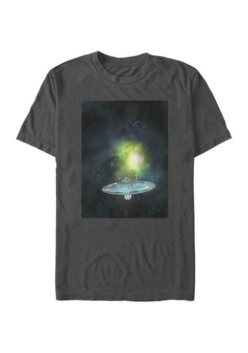 STAR TREK Juniors Return From Space Graphic T-Shirt