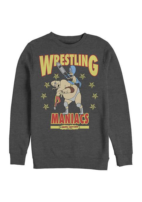 MTV Maniacs Graphic Crew Fleece Sweatshirt