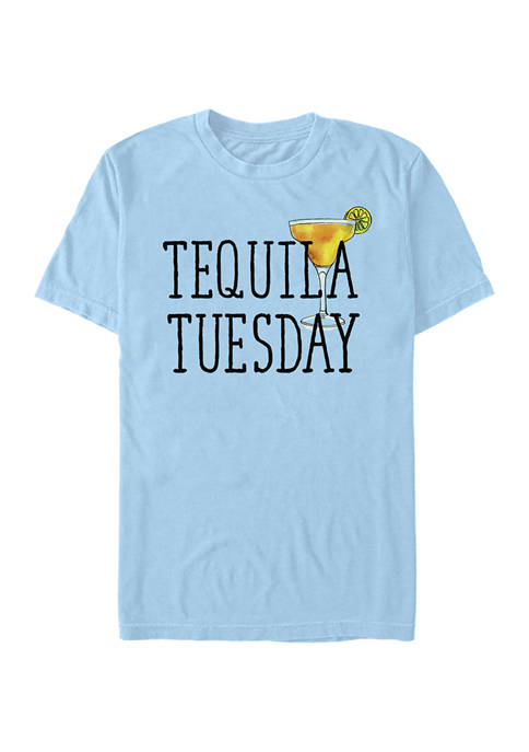 Chin-Up Juniors Tequila Tuesday Graphic T-Shirt