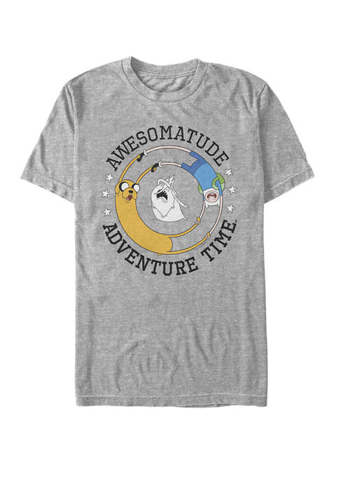 Cartoon Network Adventure Time Awesomatude Short Sleeve Graphic