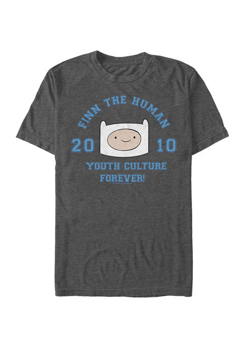 Cartoon Network Juniors Finn The Human Graphic T-Shirt