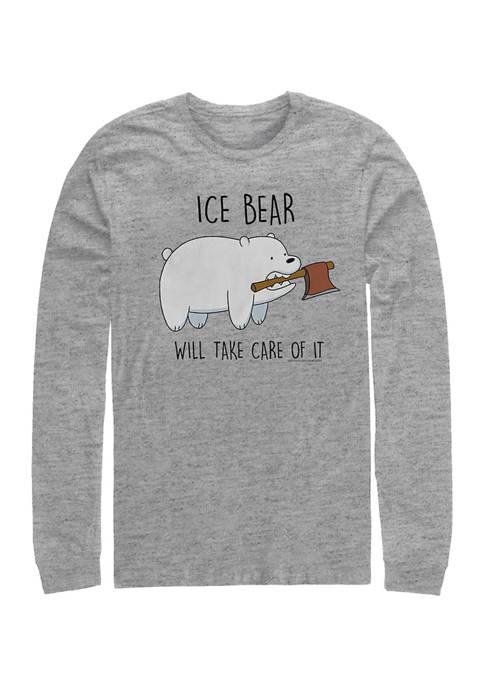 Cartoon Network Juniors Ice Bear Take Care Graphic