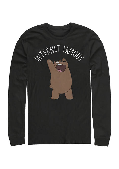 Cartoon Network Internet Famous Comp Graphic Long Sleeve