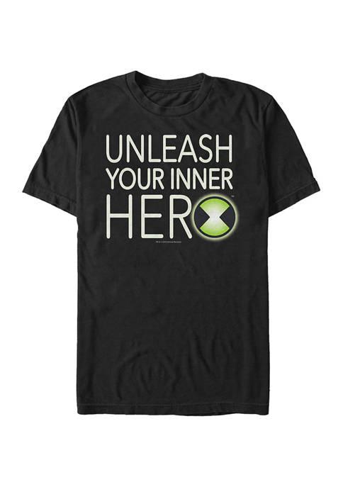 Cartoon Network Juniors Ben Hero Graphic T-Shirt