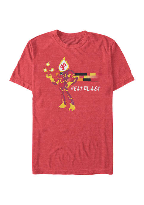 Cartoon Network Ben 10 Heat Blast Graphic T-Shirt