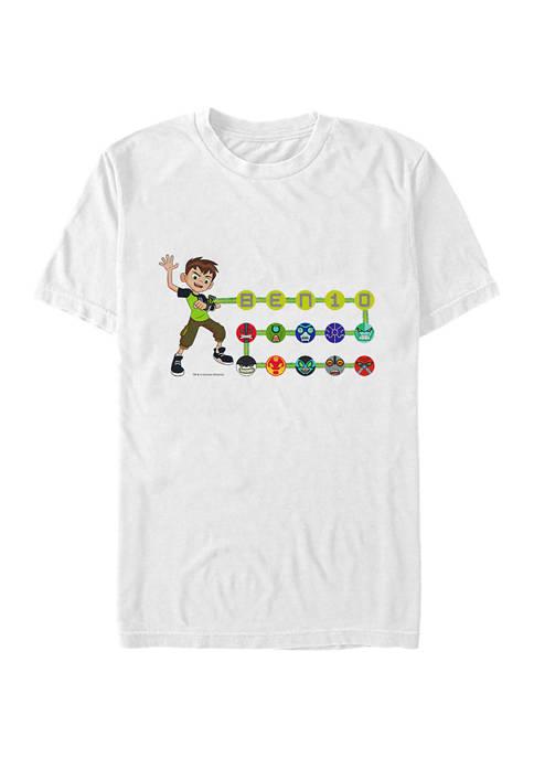 Cartoon Network Ben Aliens Graphic T-Shirt