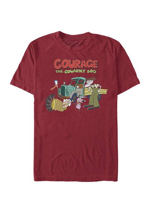 Cartoon Network Juniors Logo Scene Graphic T-Shirt