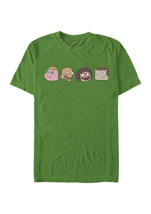Cartoon Network Juniors Four Straight Graphic T-Shirt