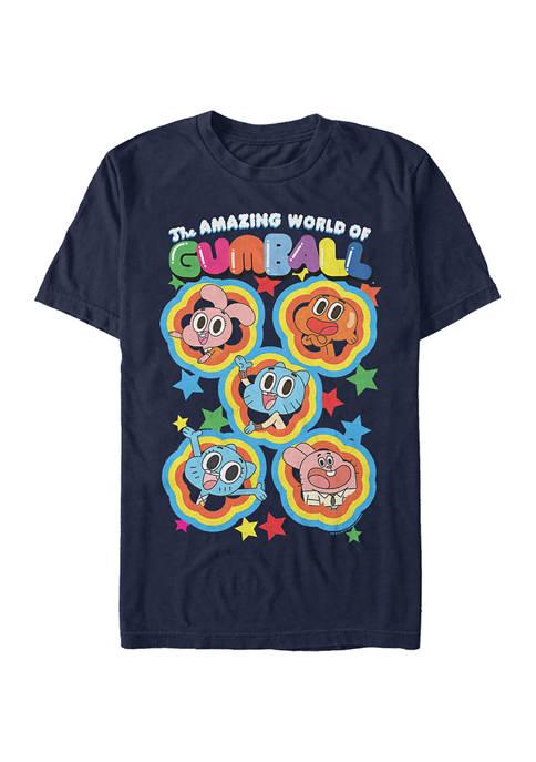 Cartoon Network Juniors Five Stars Graphic T-Shirt