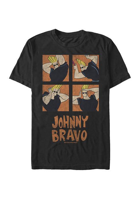 Cartoon Network Juniors Many Faces Comp Graphic T-Shirt