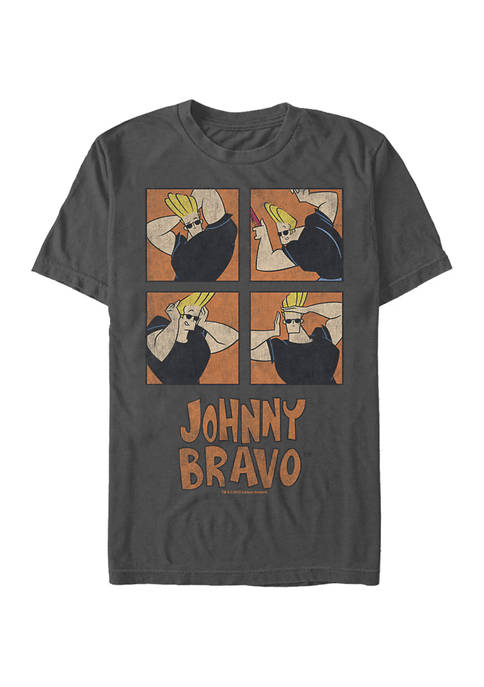 Cartoon Network Juniors Many Faces Graphic T-Shirt