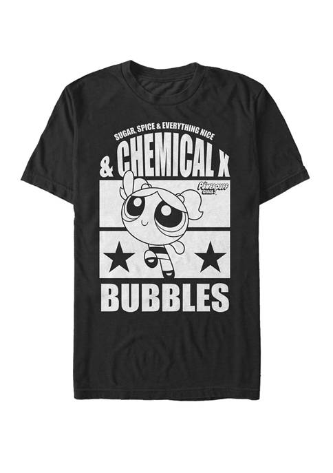 Cartoon Network Power Puff Girls Bubbles Short Sleeve