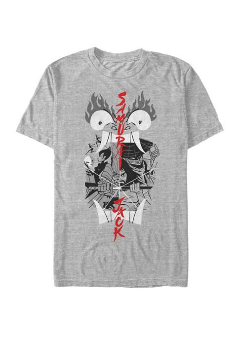 Cartoon Network Samurai Jack Aku Illustrated Storytelling Short