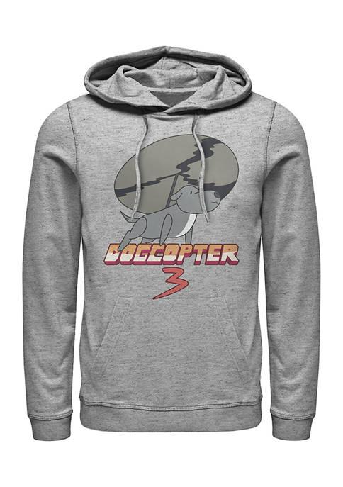 Cartoon Network Juniors Dogcopter Graphic Hoodie