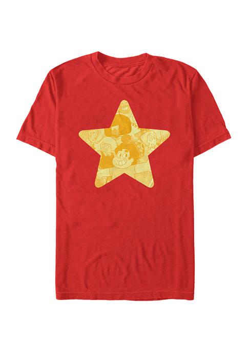 Cartoon Network Steven Star Graphic T-Shirt