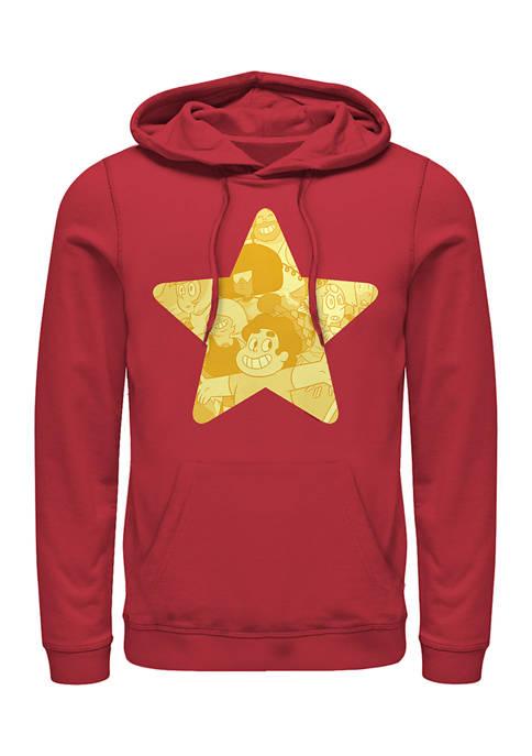 Cartoon Network Steven Star Graphic Hoodie