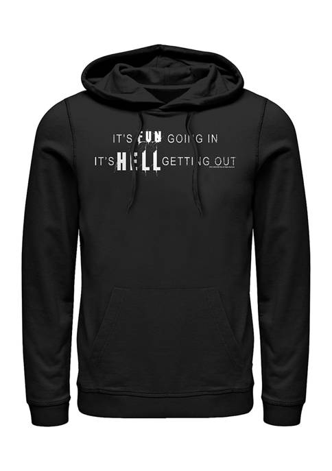 Fifth Sun™ Juniors Hell Getting Out Graphic Hoodie