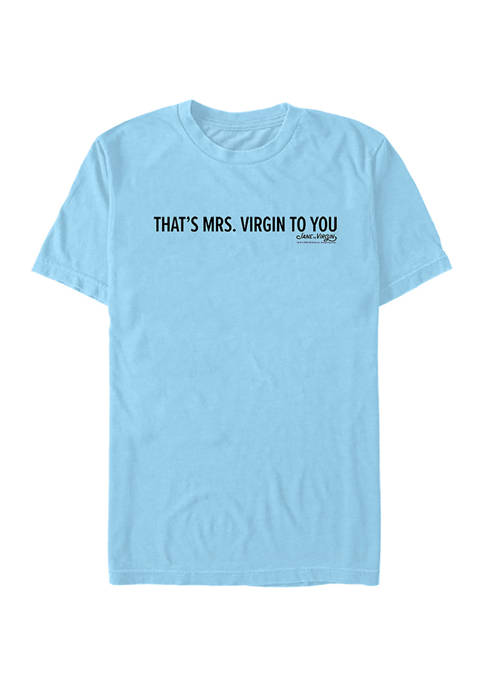 Fifth Sun™ Juniors Thats Mrs. Virgin Graphic T-Shirt