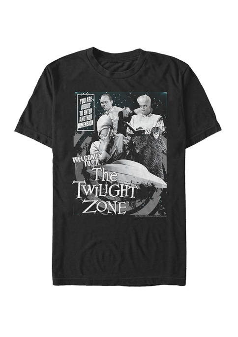 About To Enter Another Dimension Short Sleeve T-Shirt