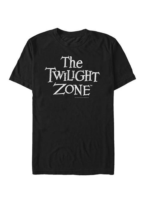 Distressed Logo Short Sleeve T-Shirt