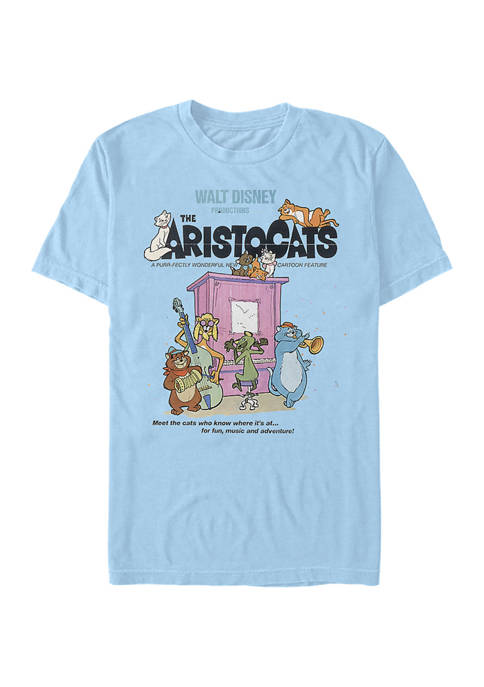 Disney® Juniors Classic Poster Graphic Short Sleeve T-Shirt