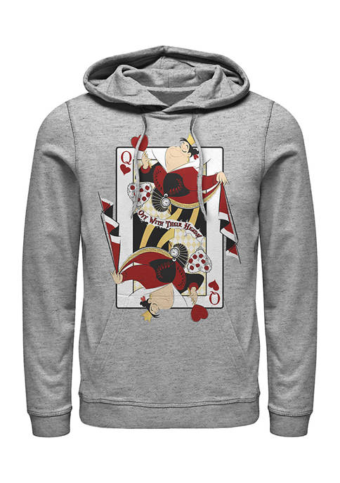 Disney® Queen of Hearts Fleece Graphic Hoodie