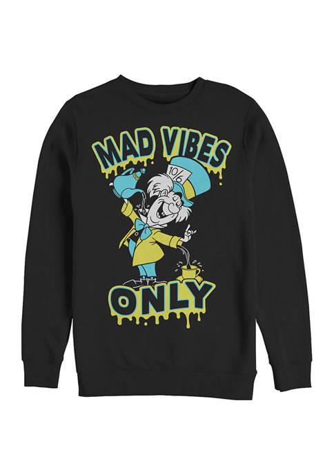 Disney® Spill It Hatter Crew Fleece Graphic Sweatshirt